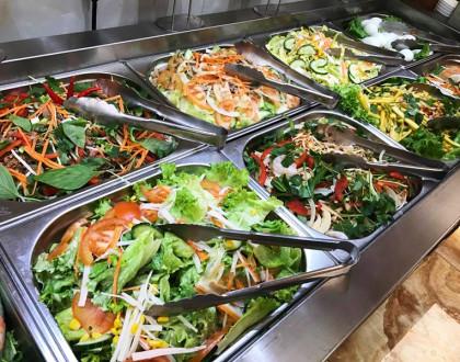 Plats végétariens - Buffet à volonté, livraison à domicile - Restaurant Chinatown Lyon 7