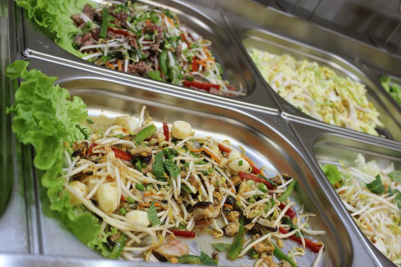 Salades - Chinatown