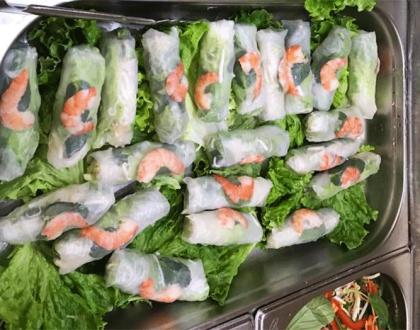Rouleaux aux crevettes - Chinatown Lyon